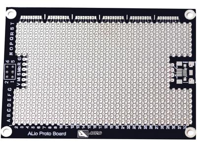 ALio embedded board, bottom view.