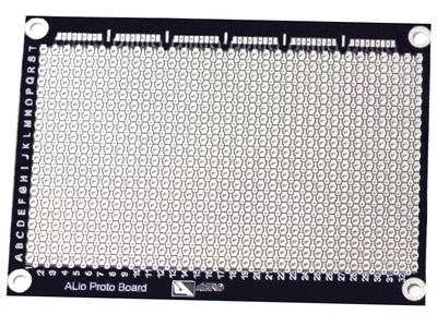 ALio basic board, top view.