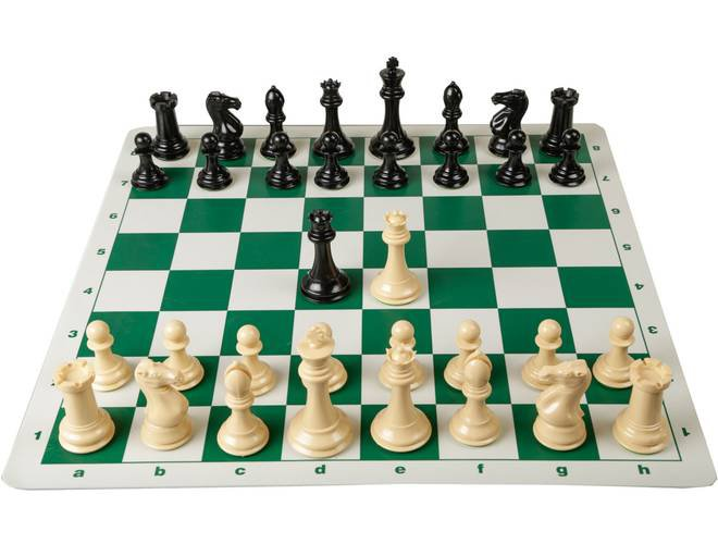 Quadruple Weight Tournament Chess Set Crowd Supply