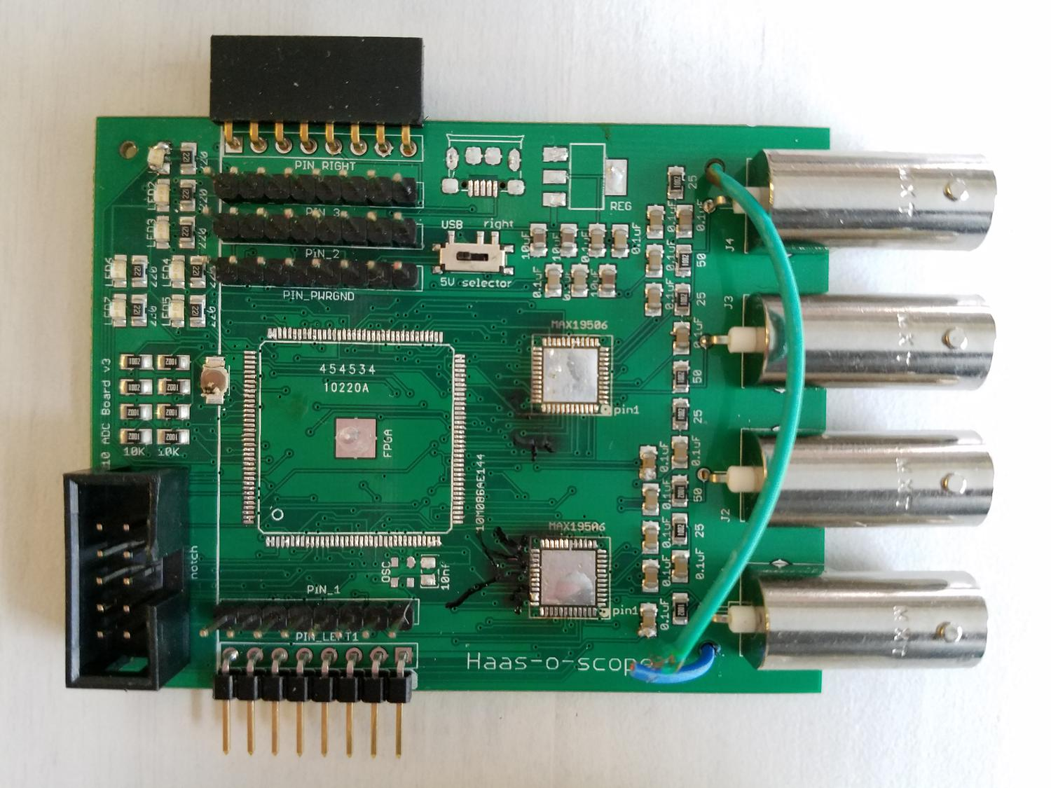 Haasoscope The Evolution Of Crowd Supply Dc Power For Logic Control And A 40 Volt Powering Driver