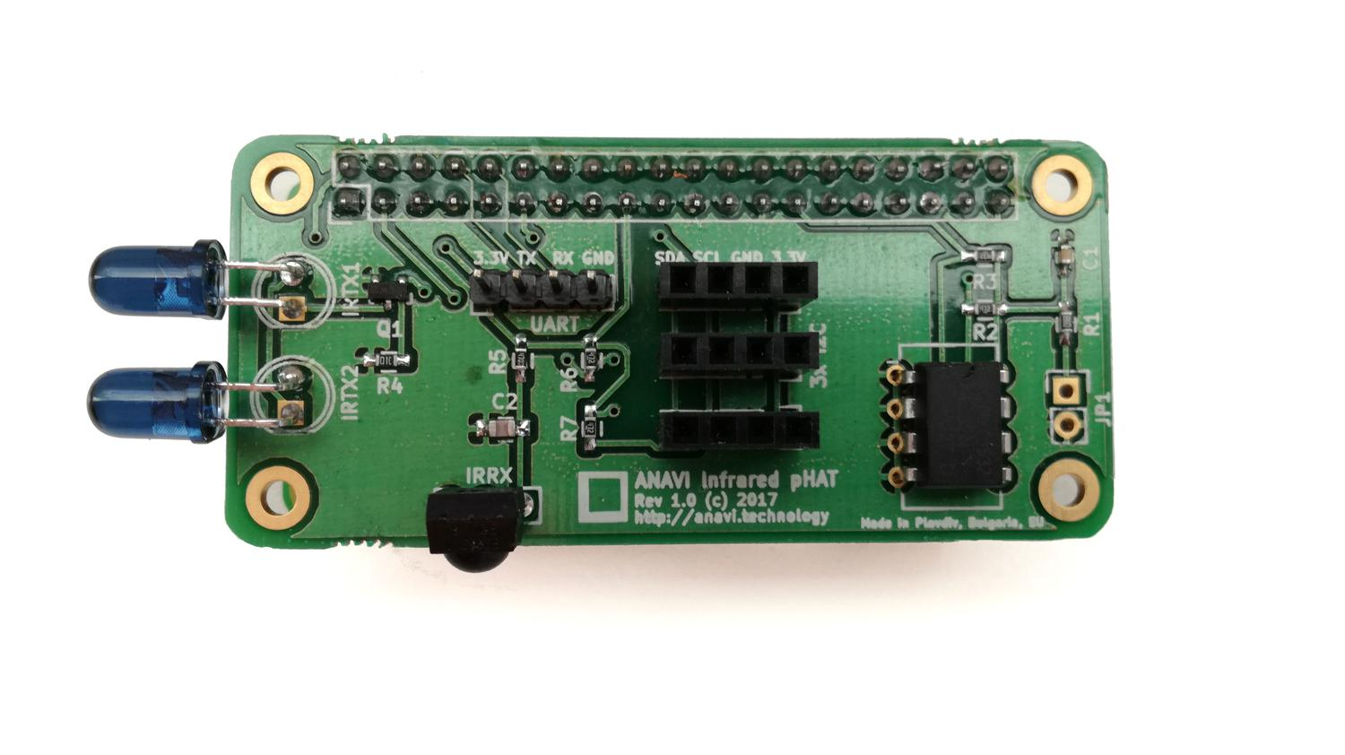 Anavi Infrared Phat Crowd Supply The Previous Circuit Makes It Work As An Transmitter We Can