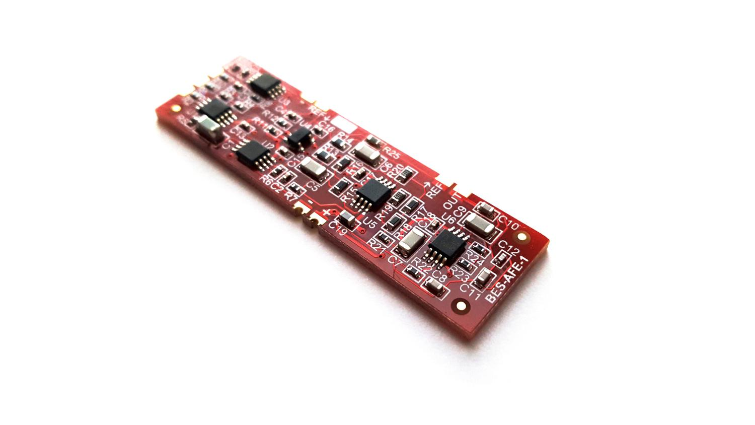 Holiday Gift Guide Crowd Supply Circuit Board Pcb For The Main Project In Book 39robot Building Bes Afe 1 Analog Front End Module Ecgs