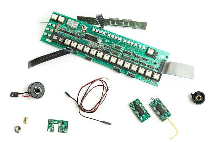 Roland TR-909 Digital Mods: Memory, MIDI, OS, LED Upgrades