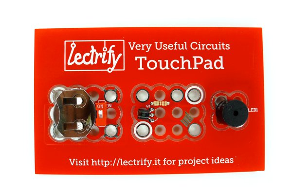 Touchpad with Buzzer Mod
