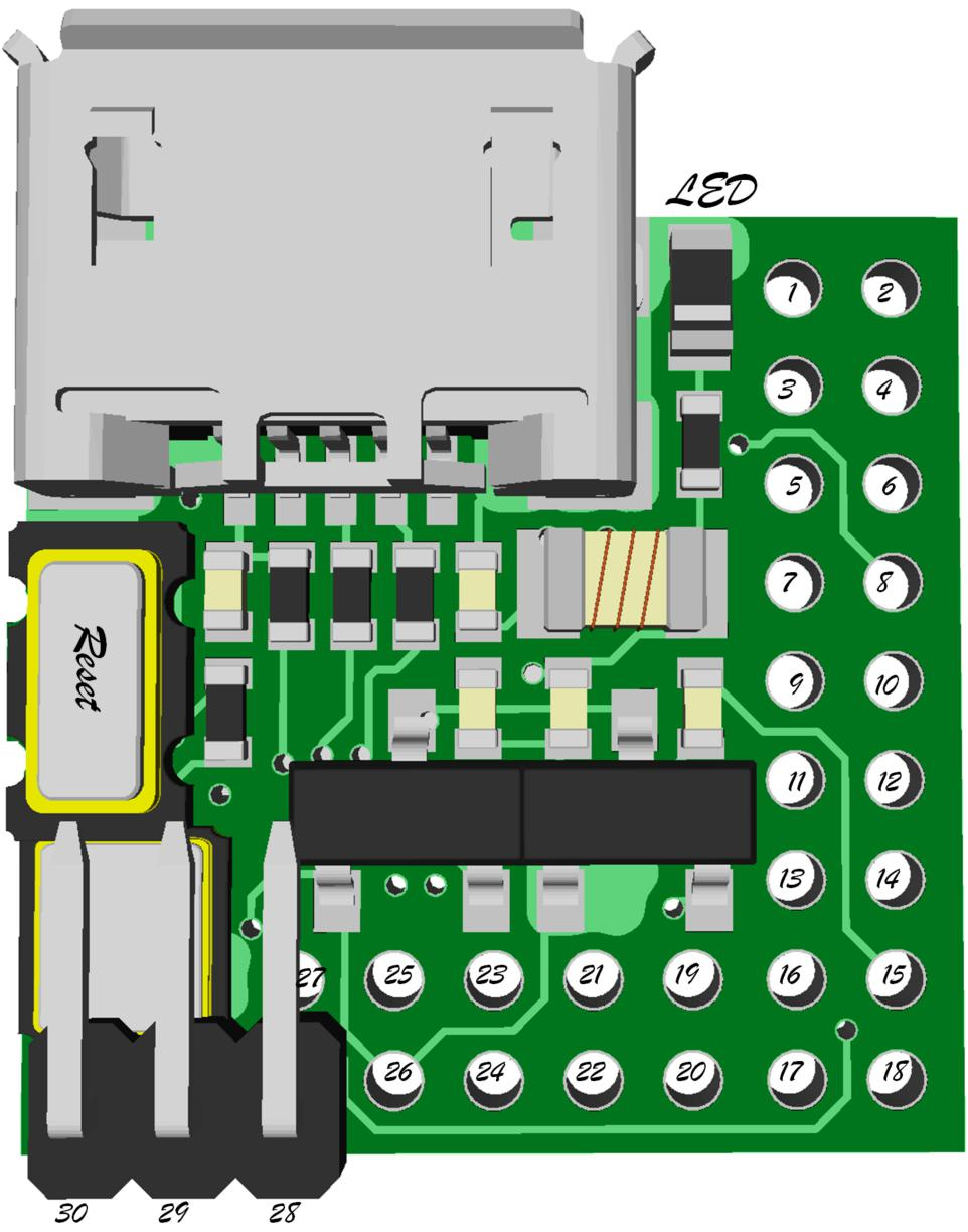 Duino Pinout And More Crowd Supply Jigmod Electronic Circuit Building System Electronicslab
