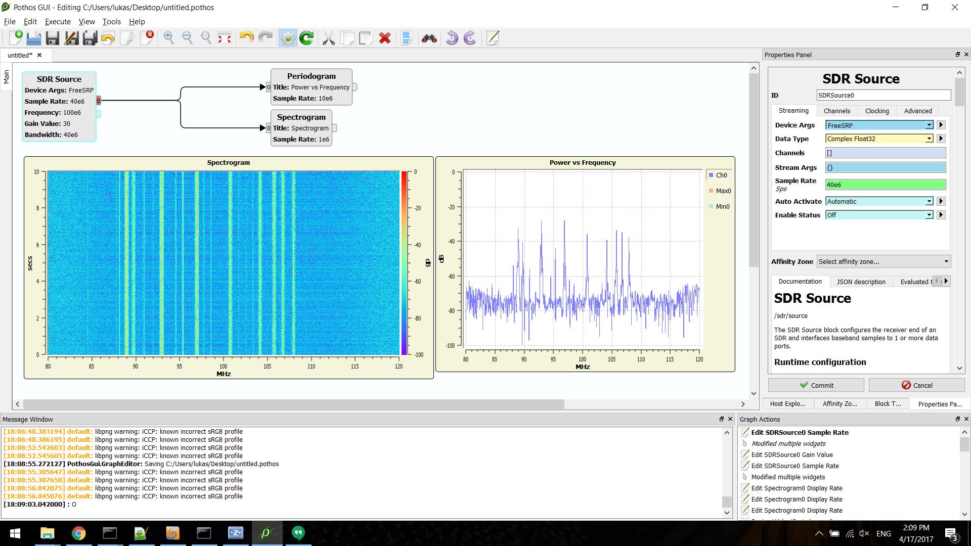 FreeSRP - Windows Support, FPGA Design, USB Firmware, and