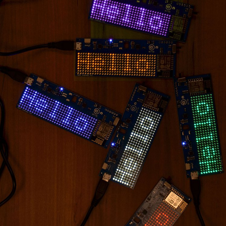 Maker LED Display - Colorways and PCB Design | Crowd Supply
