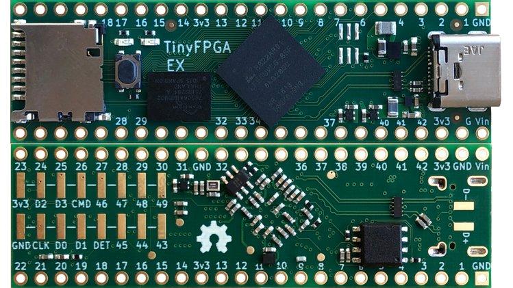 TinyFPGA EX | Crowd Supply