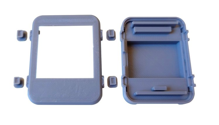 Watchy 3D printed case