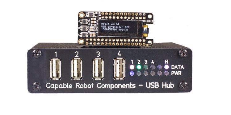 Programmable USB Hub | Crowd Supply