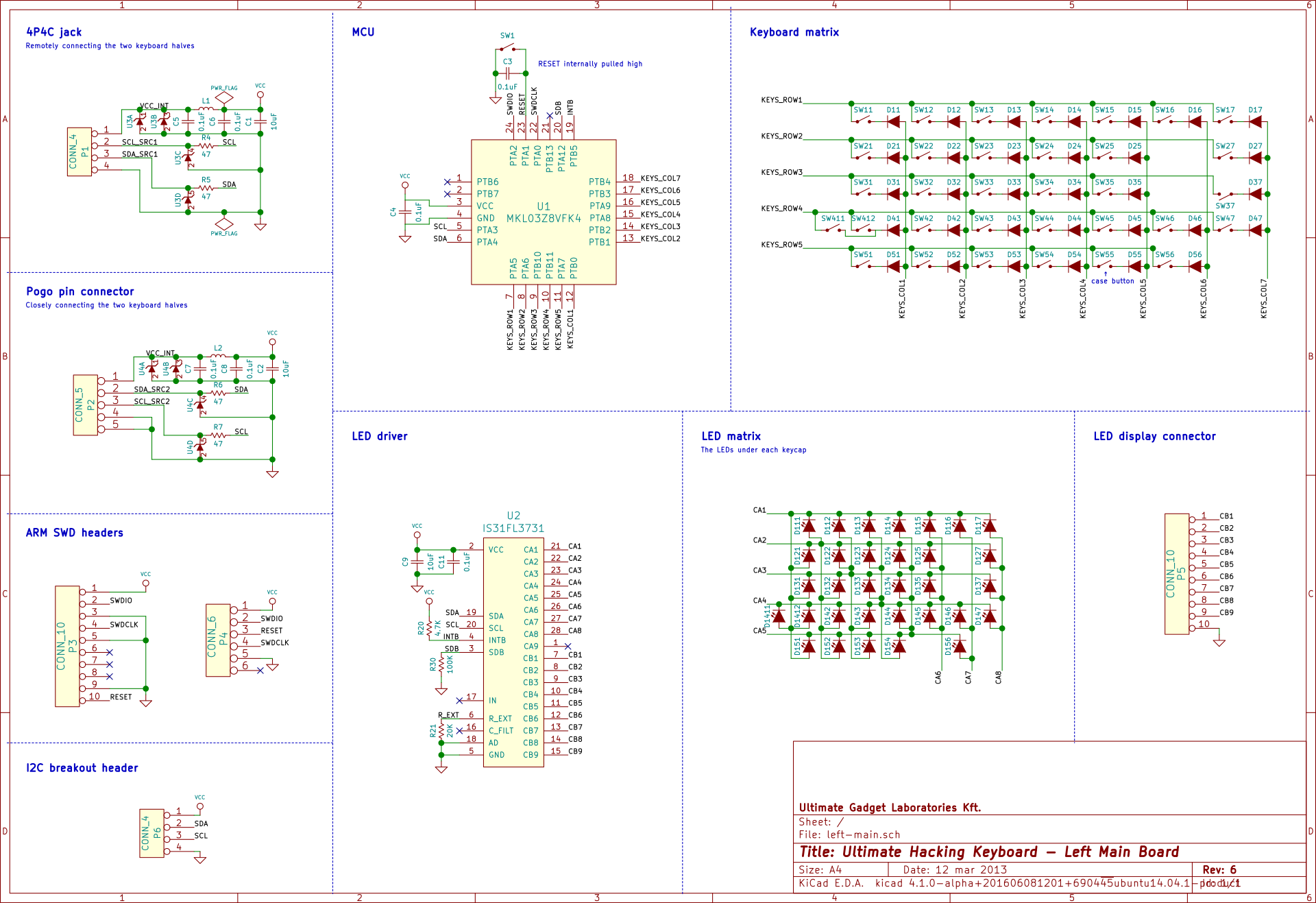 Ultimate Hacking Keyboard Tooling Is Progressing Crowd Supply Schematic Diagram Mad Props Go To The Always Awesome Mr Jan Rychter For Reviewing Catching A Couple Of Issues And Providing Valuable Suggestions