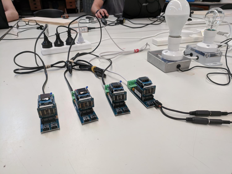 ATM90E26 Single-Phase Energy Monitor Dev Kits - Shipping of DIN Rail
